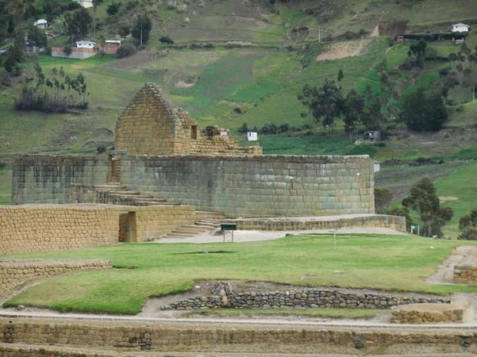 Ingapirca - temple of the sun 3