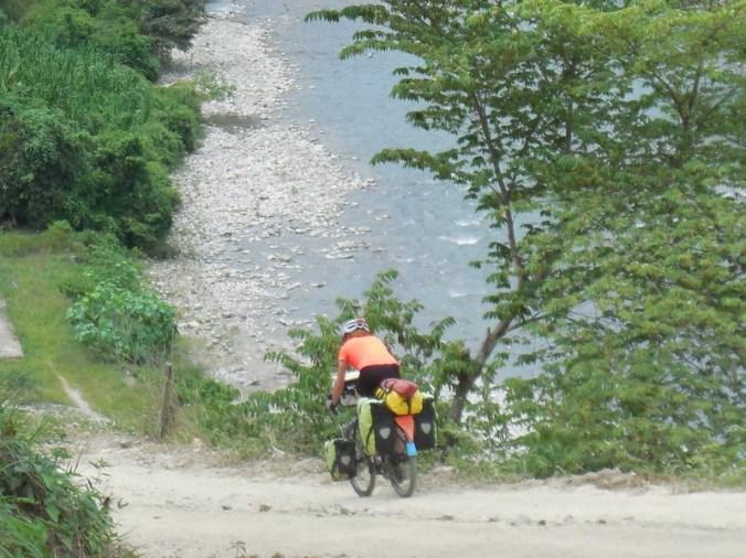 Last downhill - steep