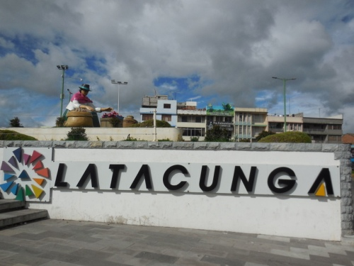 Latagunga sign 2