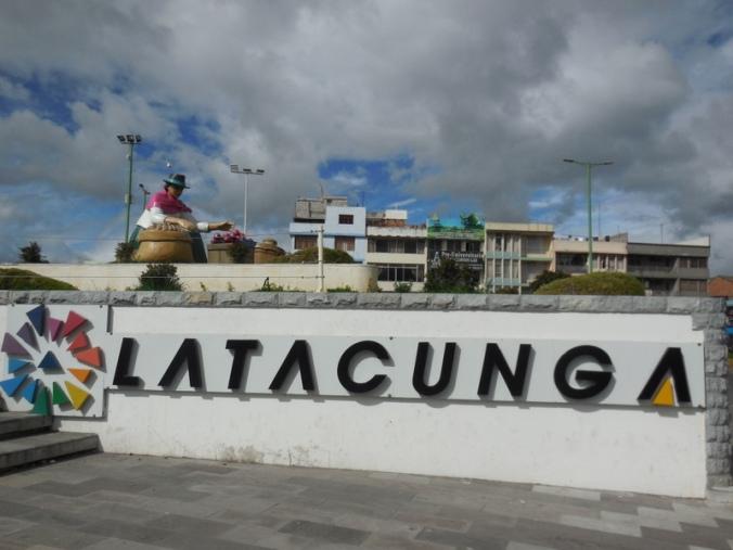 Latagunga sign 2