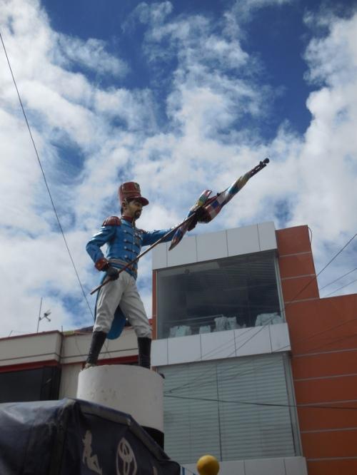 Latagunga statue 1