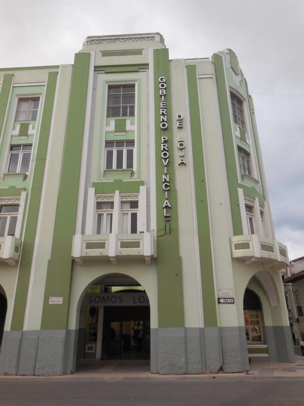 Loja old building