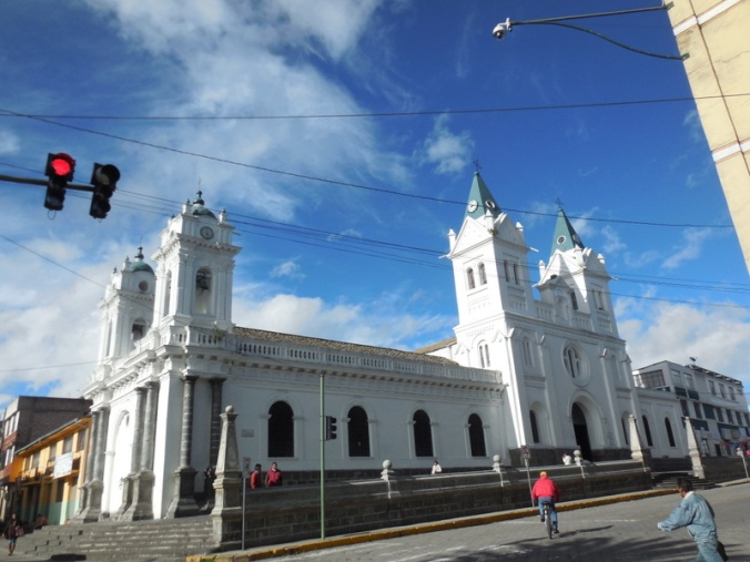 Machachi church 1