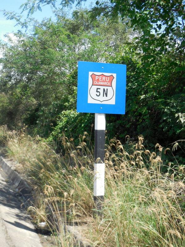 Our main road through Peru 2