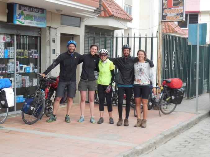 Philipp, Kathrin, Nancy, Jeremy & Anais