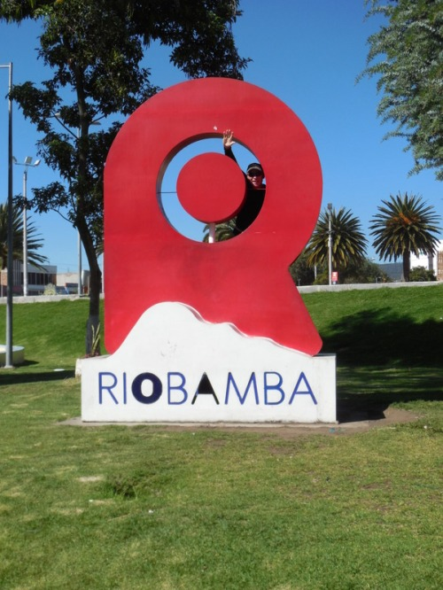 Riobamaba sign
