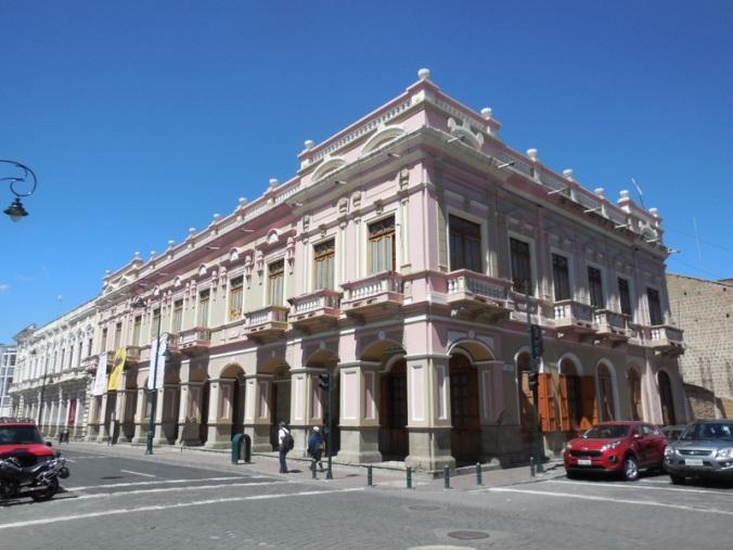 Riobamba colonial architecture 3