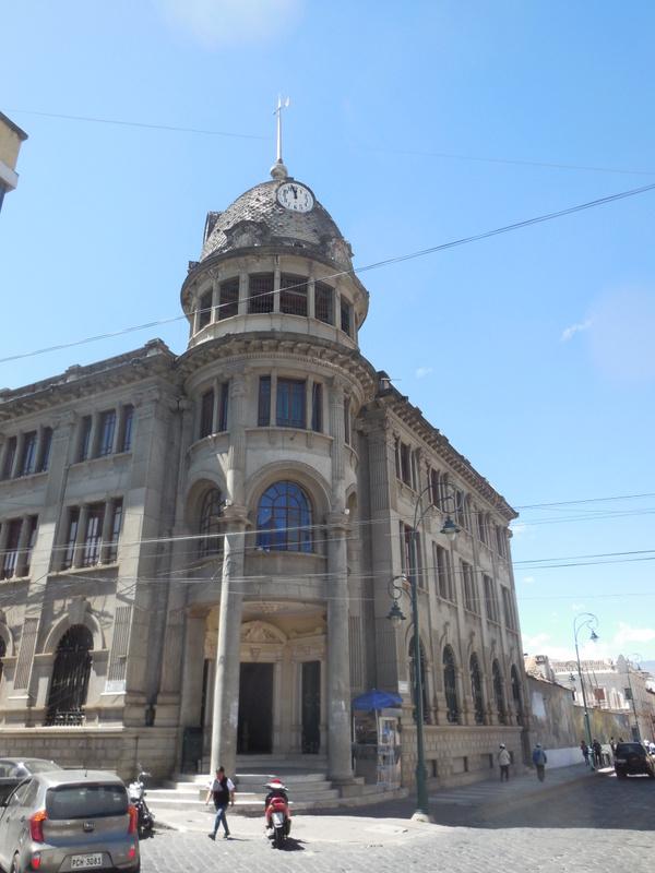 Riobamba colonial architecture 5