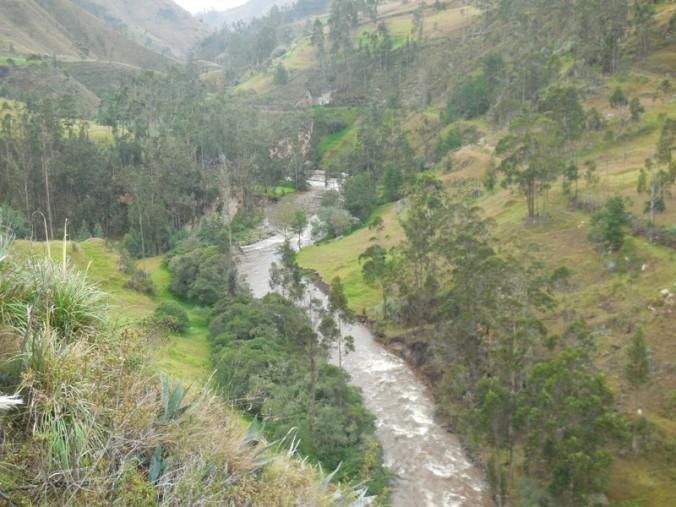 River near Saraguro
