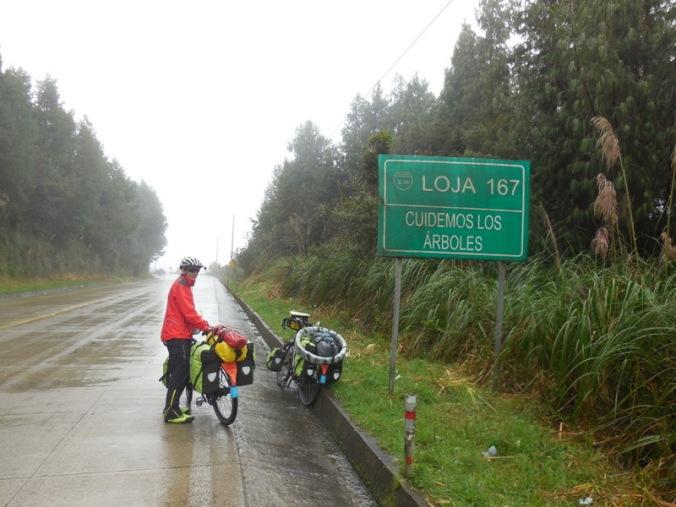 The rain at the summit