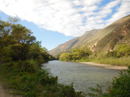 Utcubamaba River in the morning 2
