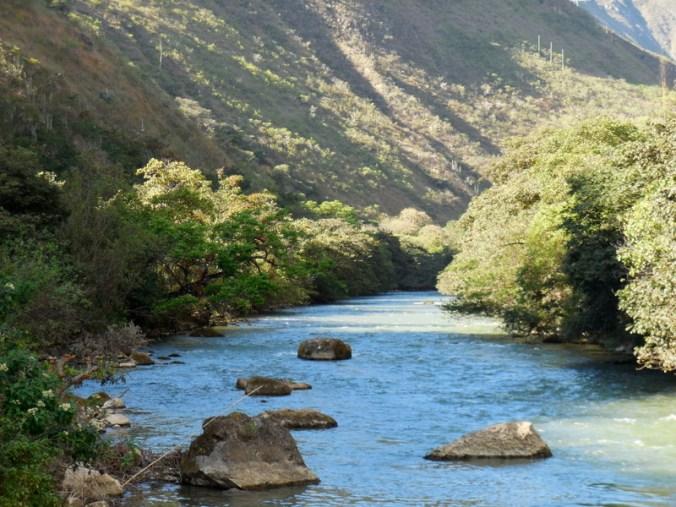 Utcubamaba River in the morning 3