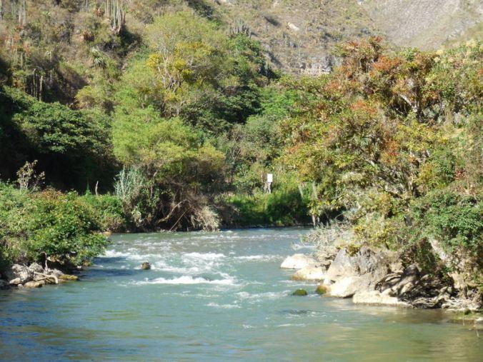 Utcubamaba River in the morning 4