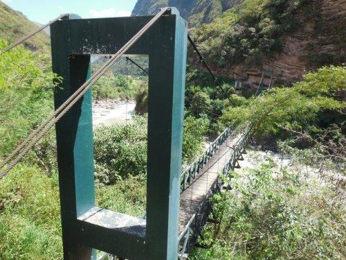 Utcubamba River bridge 2