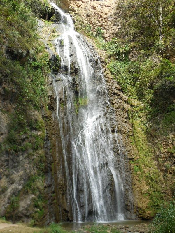 Utcubamba River creek p falls