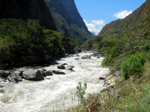 Utcubamba River rapids 2
