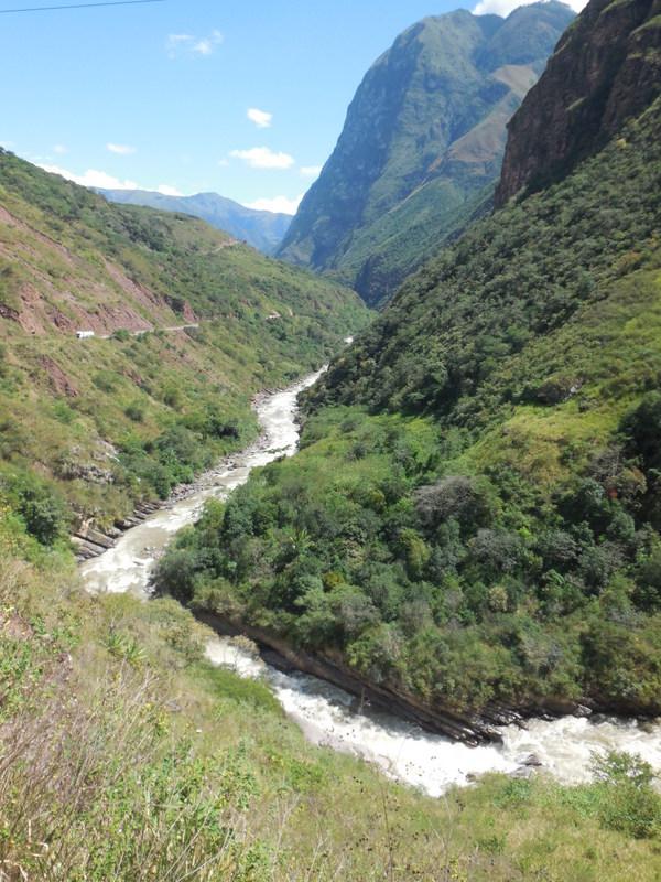 Utcubamba River rapids 4