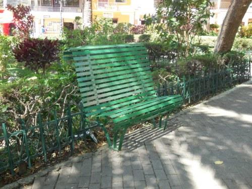 Vilcabamba bench