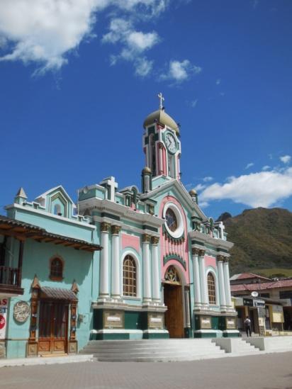 Vilcabamba church 2