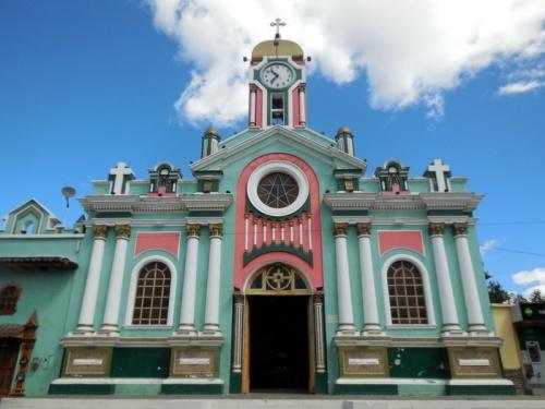 Vilcabamba church 4