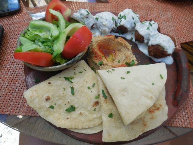 Vilcabamba lunch