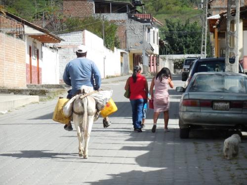 Vilcabamba traffic