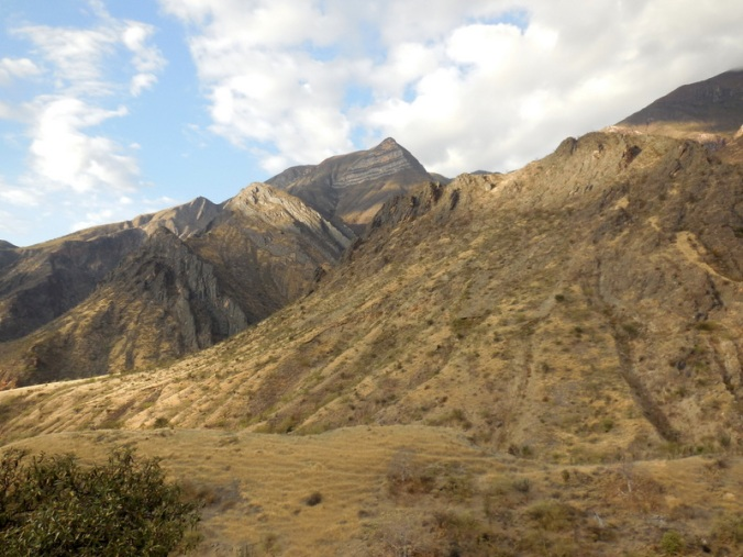Andes morning view 1