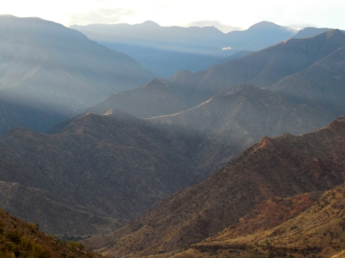 Andes morning view