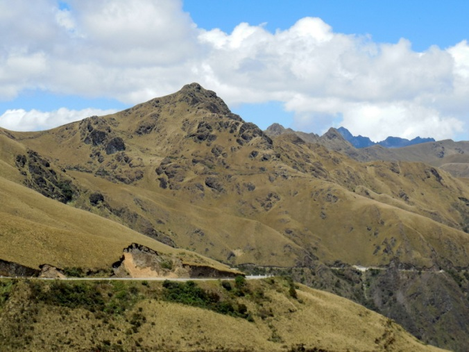 Andes view going down 2