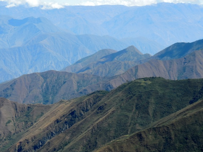 Andes view going down 4