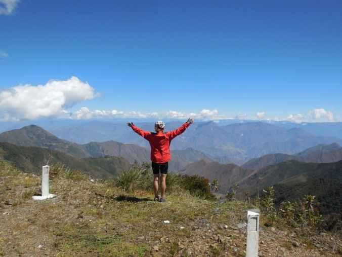 Andes view - lunch stop