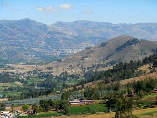 Cajamarca fading from view