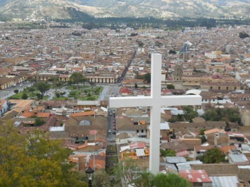 Cajamarca from mirrador 3