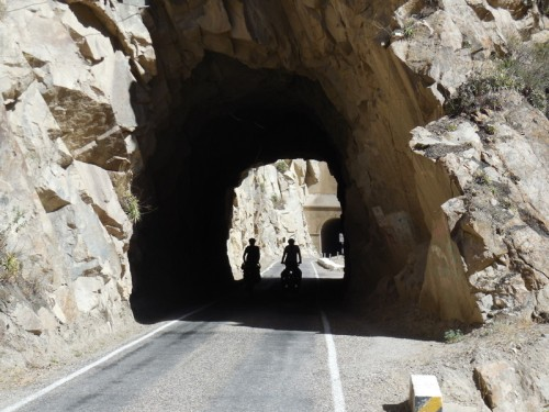 Canyon del Pato tunnel
