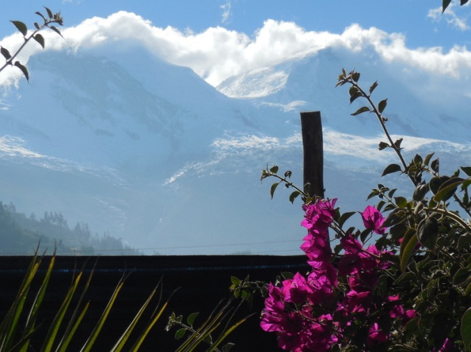 Cordillera Blanca Mountain view 1