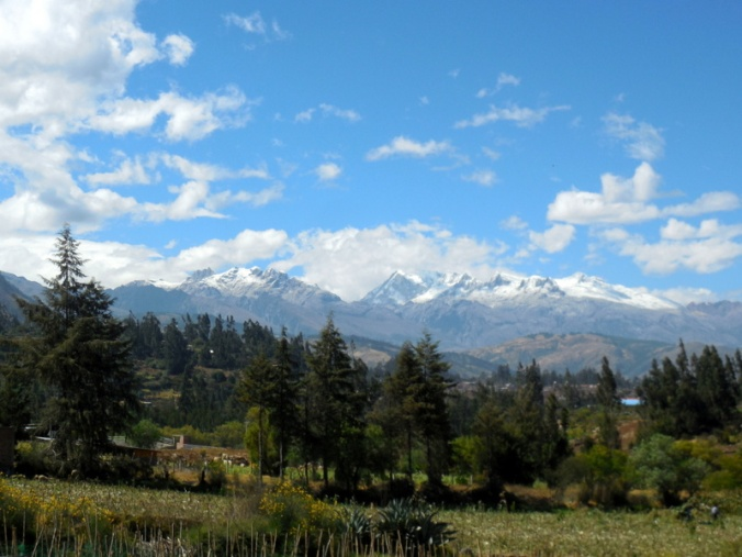 Cordillera Blanca Mountain view 4