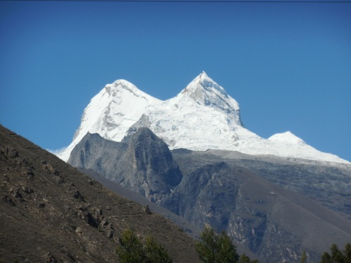 Cordillera Blanca Mountain view 7