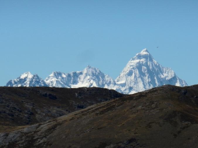 Cordillera Blanca Mountains looking north 1