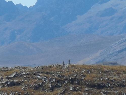 Distant Andes peaks 2