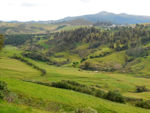 Farm land at 3200 meters