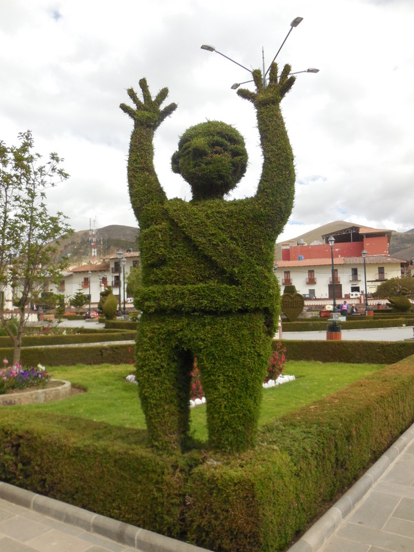 Huamachuco topiary 6
