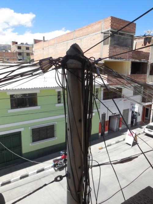 Huaraz jumbled wires - LA special