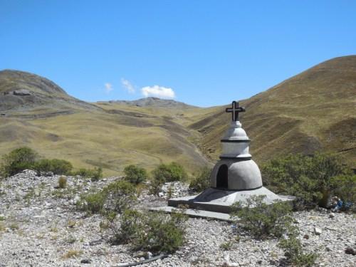 Monument on the climb 2