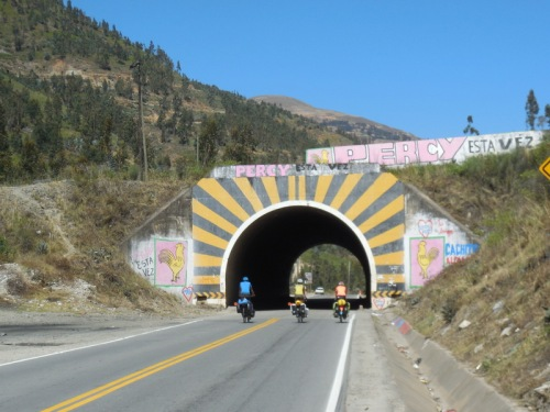One tunnel today
