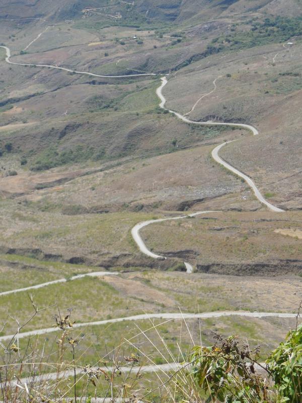 Our road below 6