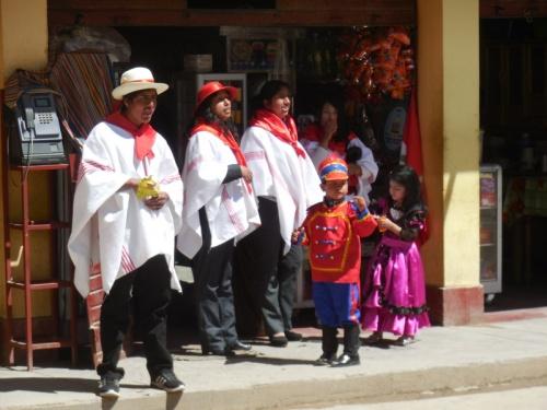 Parade in Palcamayo 6
