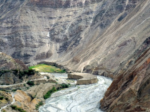 Tablachaca River canyon 3