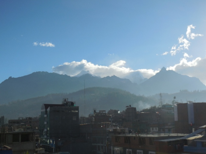 View from hotel brekkie area