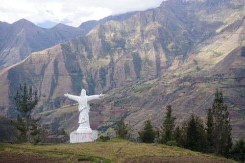 Andes statue