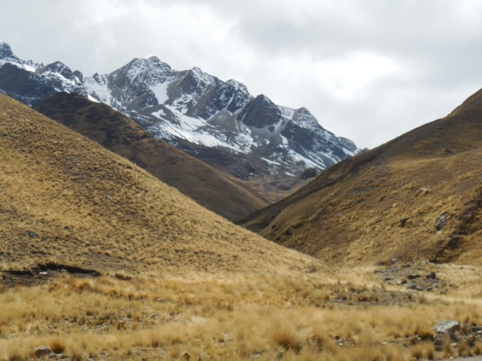 Andes view on the pass 1